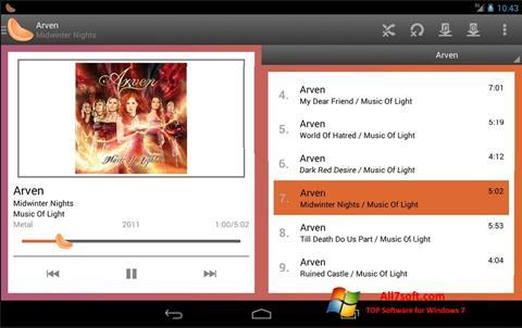 Στιγμιότυπο οθόνης Clementine Windows 7