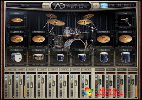 Στιγμιότυπο οθόνης Addictive Drums Windows 7