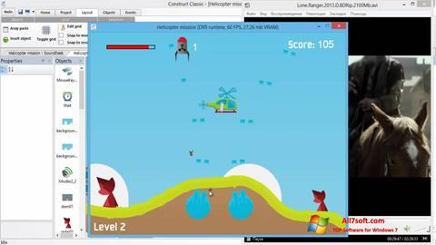 Στιγμιότυπο οθόνης Construct Classic Windows 7