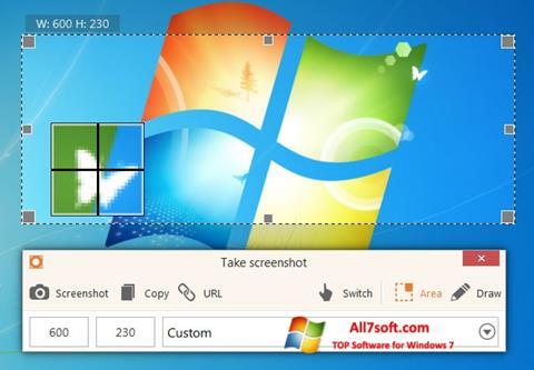 Στιγμιότυπο οθόνης ScreenShot Windows 7