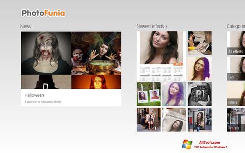 Στιγμιότυπο οθόνης PhotoFunia Windows 7
