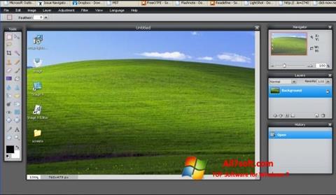 Στιγμιότυπο οθόνης LightShot Windows 7