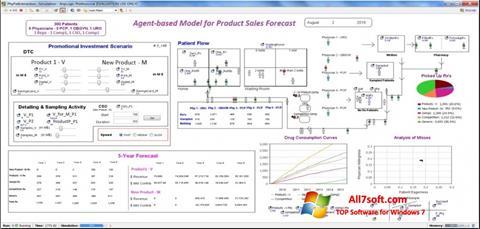Στιγμιότυπο οθόνης AnyLogic Windows 7