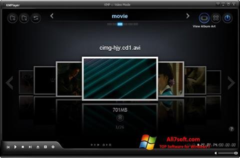 Στιγμιότυπο οθόνης KMPlayer Windows 7