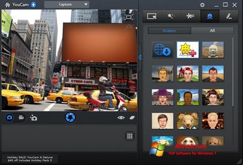 Στιγμιότυπο οθόνης CyberLink YouCam Windows 7